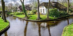 Giethoorn, el pueblo sin calles