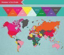 Los países más visitados del mundo
