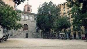 Plaza de la Paja en Madrid