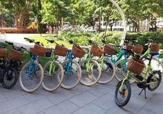 Nuestra ruta Derby Hotels en bicicleta eléctrica